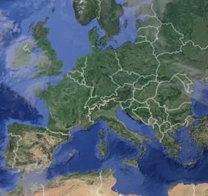 L'Europe vu du ciel